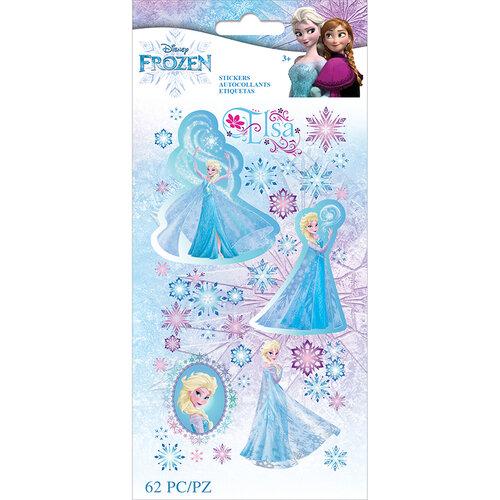EK Success - Frozen Collection - Stickers - Elsa Snowflakes