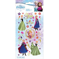 EK Success - Frozen Collection - Stickers - Anna Flowers