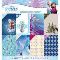 EK Success - Frozen Collection - 12 x 12 Paper Pad