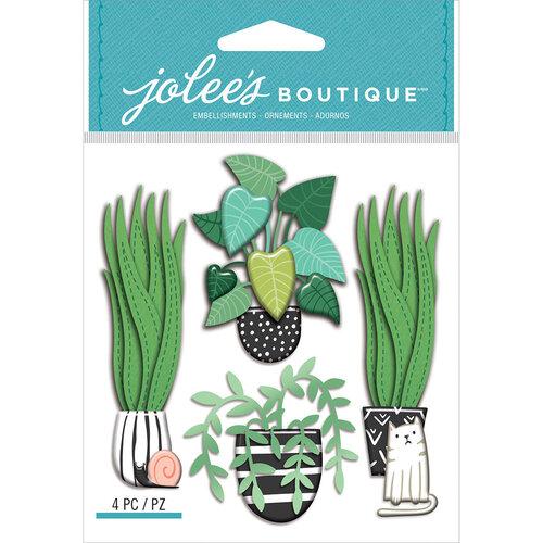EK Success - Jolee's Boutique - 3 Dimensional Stickers - House Plants