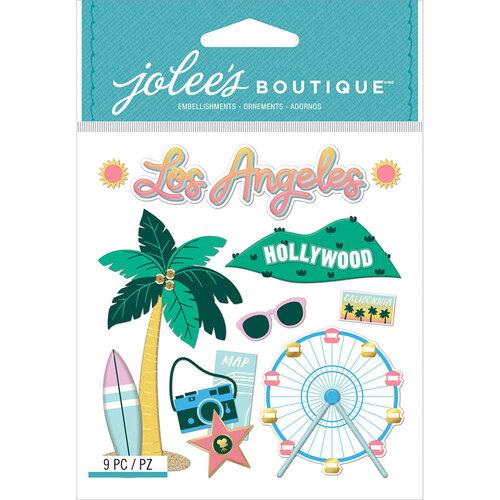 EK Success - Jolee's Boutique - 3 Dimensional Stickers - LA Travel