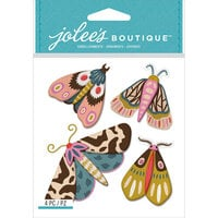 EK Success - Jolee's Boutique - 3 Dimensional Stickers - Beautiful Moths
