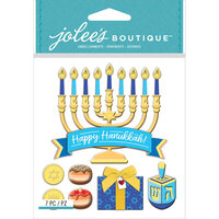 EK Success - Jolee's Boutique - 3 Dimensional Stickers - Menorah