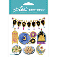 EK Success - Jolee's Boutique - 3 Dimensional Stickers - Ramadan