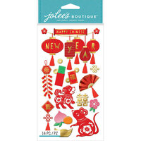 EK Success - Jolee's Boutique - 3 Dimensional Stickers - Chinese New Year