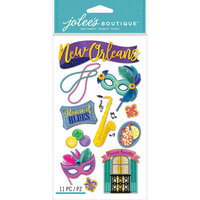 EK Success - Jolee's Boutique - 3 Dimensional Stickers - New Orleans