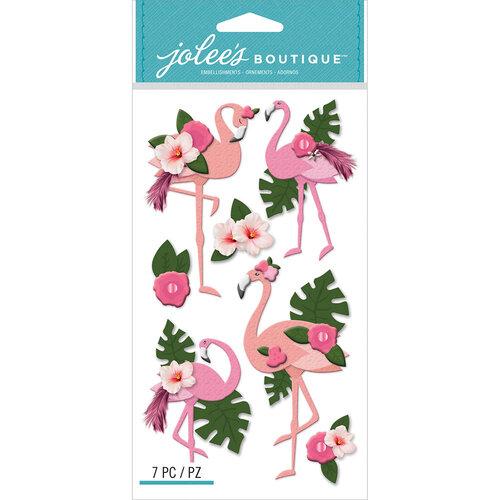 EK Success - Jolee's Boutique - 3 Dimensional Stickers - Flamingo