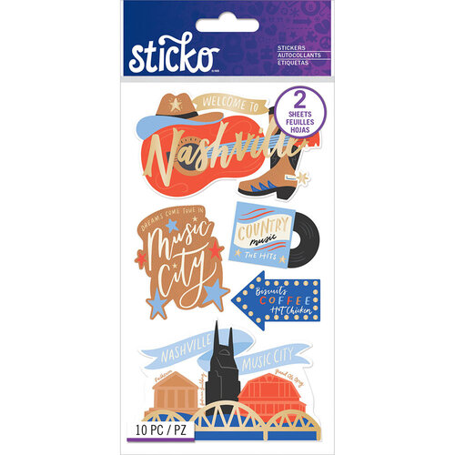 EK Success - Sticko - Stickers - Nashville