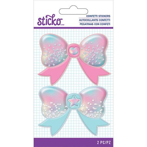 EK Success - Sticko - Confetti Stickers - Bow
