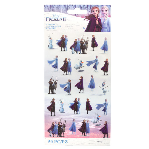 EK Success - Frozen II Collection - Stickers - Tiny Characters
