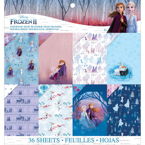 EK Success - Frozen II Collection - 12 x 12 Paper Pad