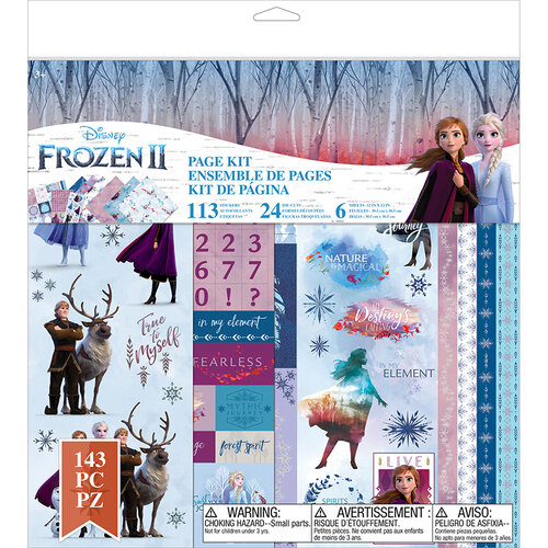 EK Success - Frozen II Collection - 12 x 12 Page Kit