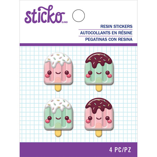 EK Success - Sticko - Resin Stickers - Popsicle