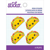 EK Success - Sticko - Resin Stickers - Taco