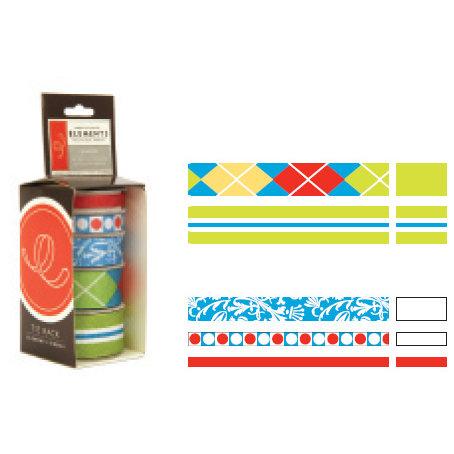 American Craft - Elements - Multisized Premium Designer Ribbon - Windsor, CLEARANCE