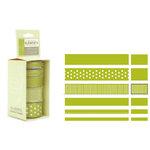 American Craft - Elements - Multisized Premium Designer Ribbon - Green Classics, CLEARANCE