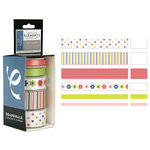 American Craft Elements - Premium Multisized Ribbon - Boardwalk - Face Painting, CLEARANCE