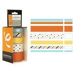American Craft Elements - Premium Multisized Ribbon - Boardwalk - Fun House, CLEARANCE