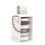 American Crafts - Specialty Ribbon - Boutique - Blanc - White