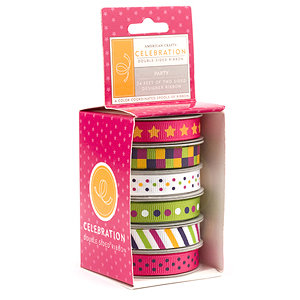 American Crafts - Celebration 2 Collection - Boxed Ribbon - Party