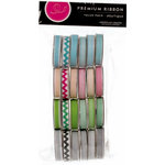 American Crafts - Ribbon Value Pack - 24 Spools - Boutique