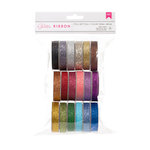 American Crafts - Ribbon Value Pack - Glitter - 18 Spools