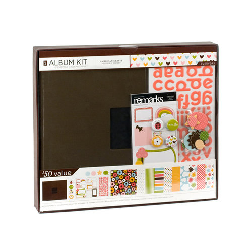 American Crafts - 12 x 12 Album Kit - Everyday