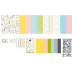 American Crafts - 12 x 12 Page Kit - Baby