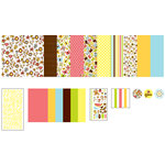 American Crafts - 12 x 12 Page Kit - Backyard