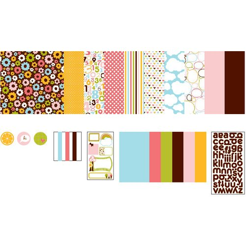 American Crafts - 12 x 12 Page Kit - Everyday