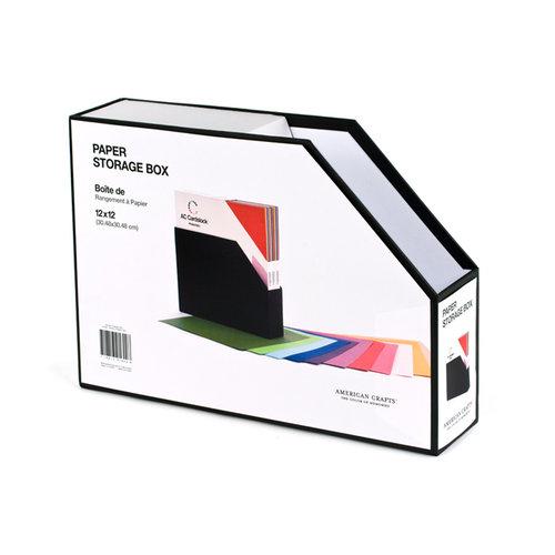 American Crafts - 12 x 12 Paper Storage Box