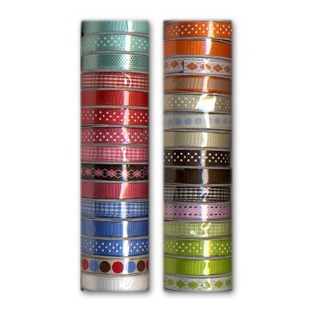 American Crafts - Essentials Ribbon Kit - 30 Spools