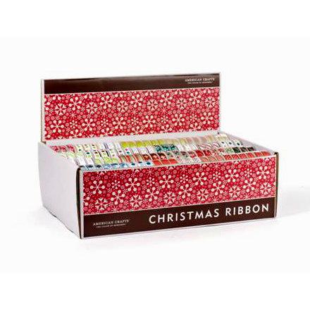 American Crafts - Santa I Have Been So Good - Christmas, Winter and Holiday Ribbon Box - 192 Spools