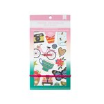 American Crafts - Sticker Book with Foil Accents - Everyday