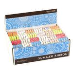 American Crafts - Ribbon Box Assortment - Summer 2008 - 192 Spools, CLEARANCE