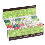 American Crafts - Ribbon Box Assortment - Winter 2008 - Christmas, CLEARANCE