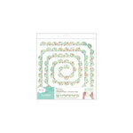 American Crafts - Dear Lizzy 5th and Frolic Collection - Flutterbys - Stitched Paper Garland - Scallop