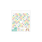 American Crafts - Dear Lizzy 5th and Frolic Collection - Flutterbys - Stitched Paper Garland - Pennant