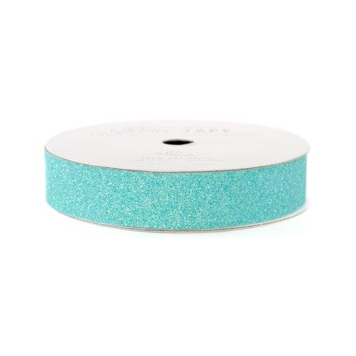 American Crafts - Glitter Tape - Aqua - 3 Yards