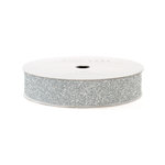 American Crafts - Glitter Tape - Silver - 3 Yards