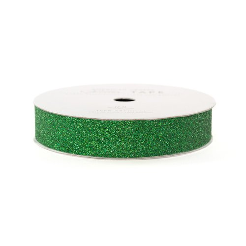 American Crafts - Glitter Tape - Evergreen - 3 Yards