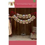 American Crafts - Christmas - Kit - Banner - Merry Christmas