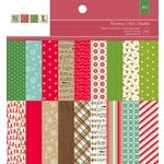 American Crafts - Christmas - 6 x 6 Paper Pad - Christmas