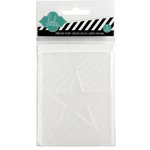 Becky Higgins - Project Life - Heidi Swapp Collection - Embossing Folder - Star