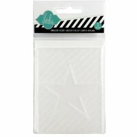Becky Higgins - Project Life - Heidi Swapp Edition Collection - Embossing Folder - Star