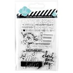 Becky Higgins - Project Life - Heidi Swapp Collection - Clear Acrylic Stamps - Cherish