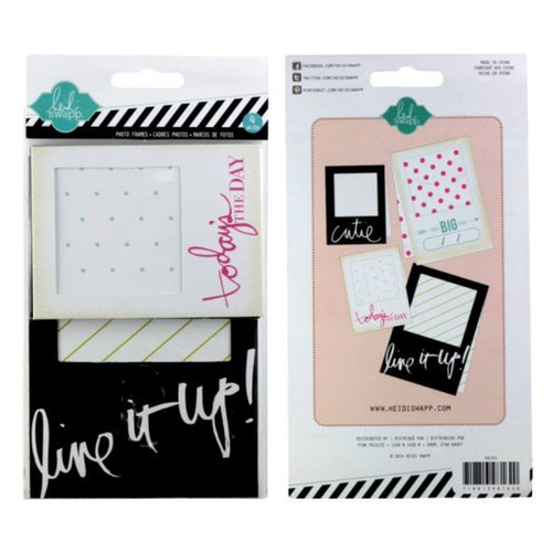 Becky Higgins - Project Life - Heidi Swapp Edition Collection - Cards - Photo Frame