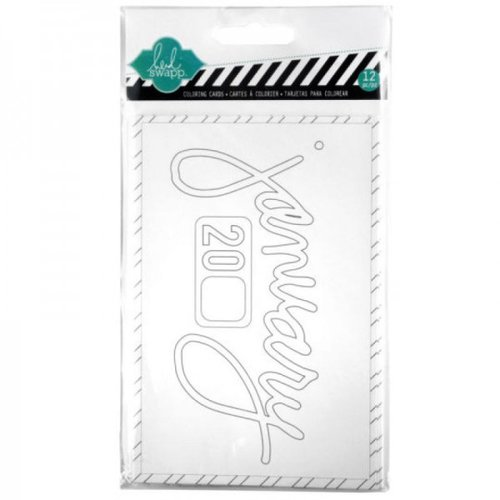 Becky Higgins - Project Life - Heidi Swapp Edition Collection - Cards - Color Cards