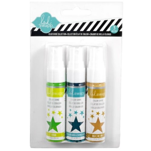 Becky Higgins - Project Life - Heidi Swapp Edition Collection - Color Shine Iridescent Spritz - Set