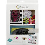 Becky Higgins - Project Life - Heidi Swapp Edition Collection - Value Kit - Overlay and Slide Cards